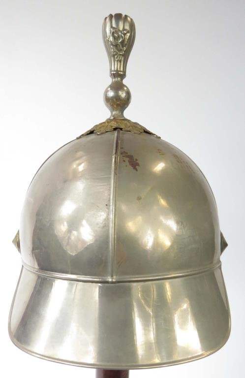 A SECRET SOCIETY CEREMONIAL HELMET