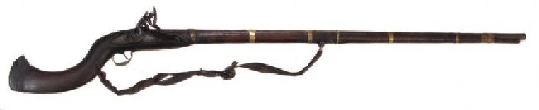 AN AFGHAN JEZAIL MUSKET