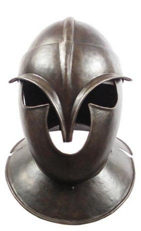 A Todenkopf Burgonet Helmet