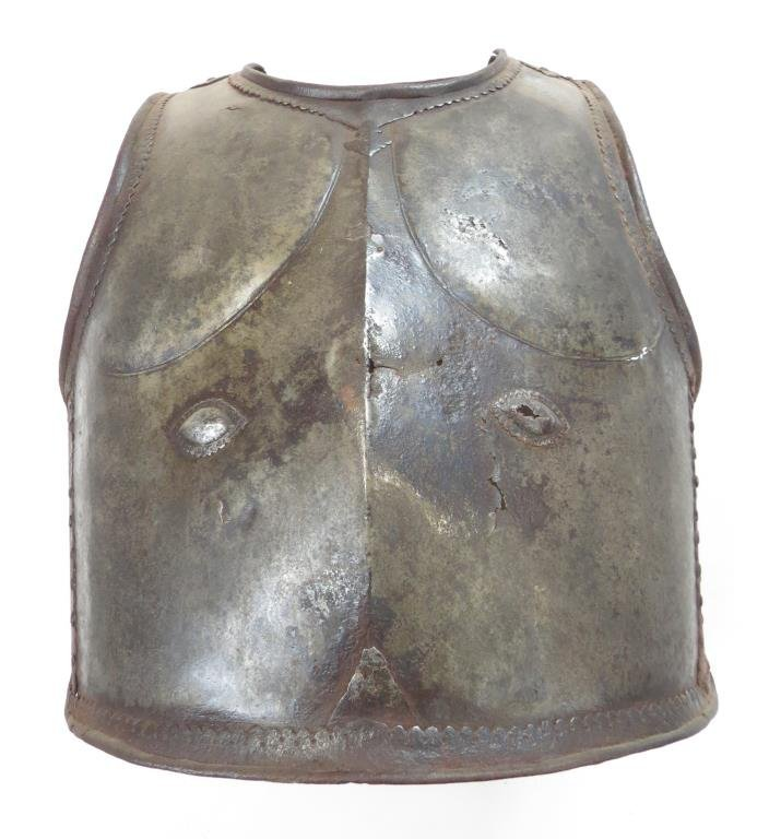 A RARE HYDERABAD CUIRASS
