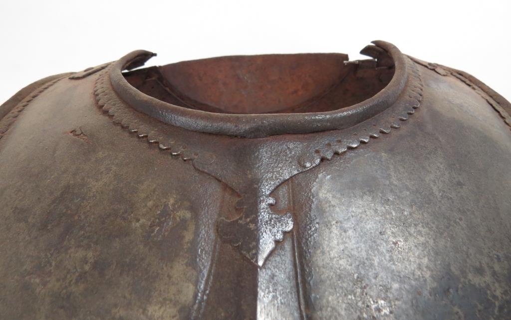 A RARE HYDERABAD CUIRASS - 3