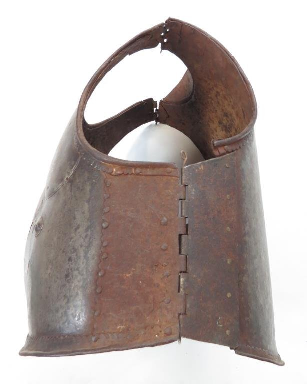 A RARE HYDERABAD CUIRASS - 6