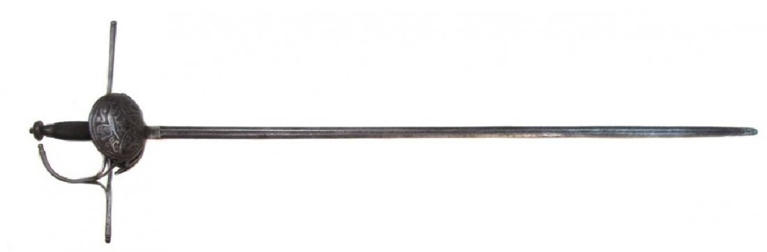 A SPANISH RAPIER SWORD