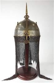 A FINE PERSIAN KULA KHUD HELMET