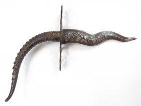 A Rare North African Presentation Dagger