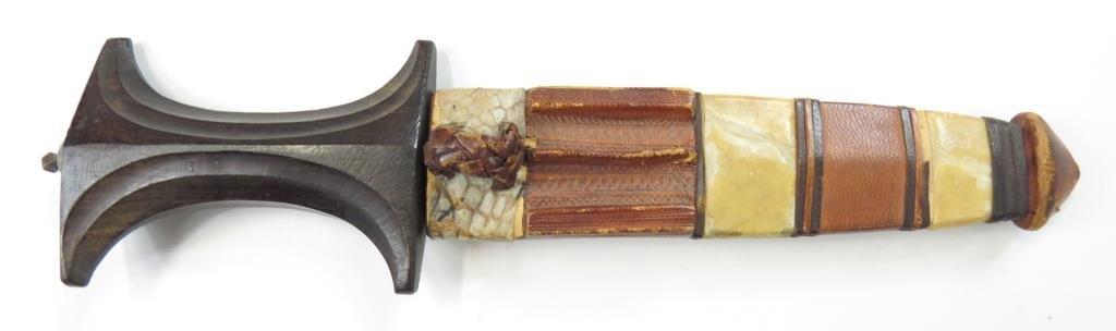 A SUDANESE ARM DAGGER
