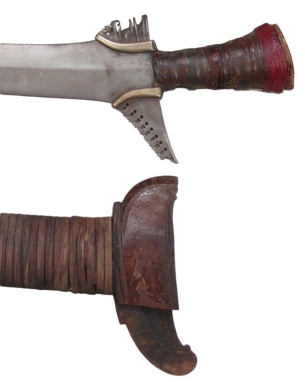 A MORO KRIS SWORD - 7