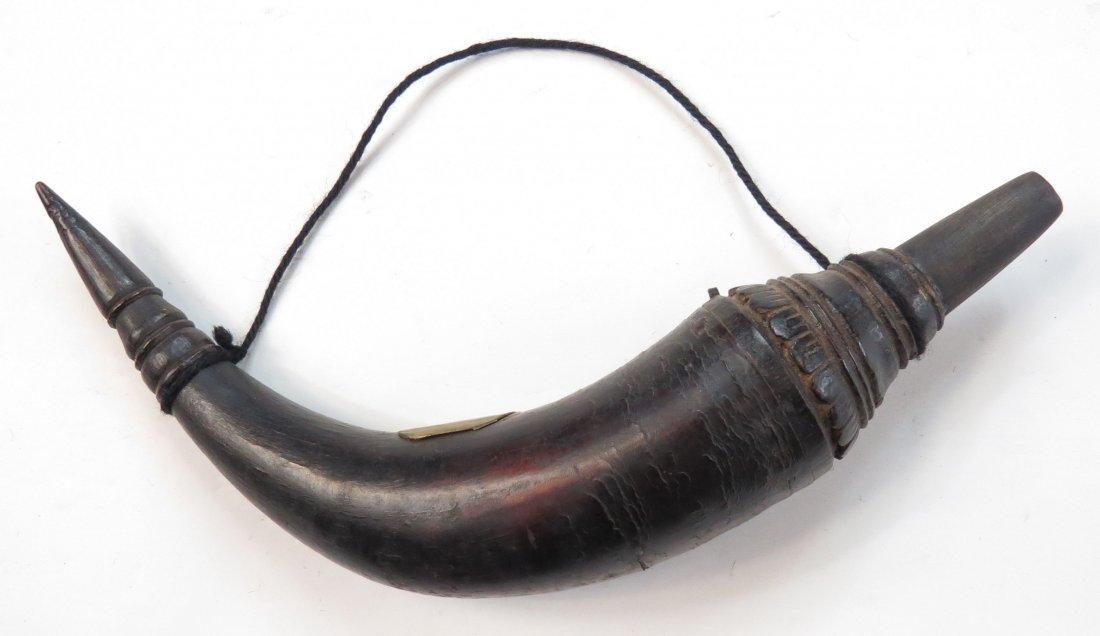 A SOUTHEAST ASIAN POWDER HORN - 2