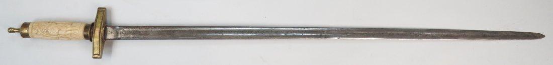 A POLISH PILLOW SWORD