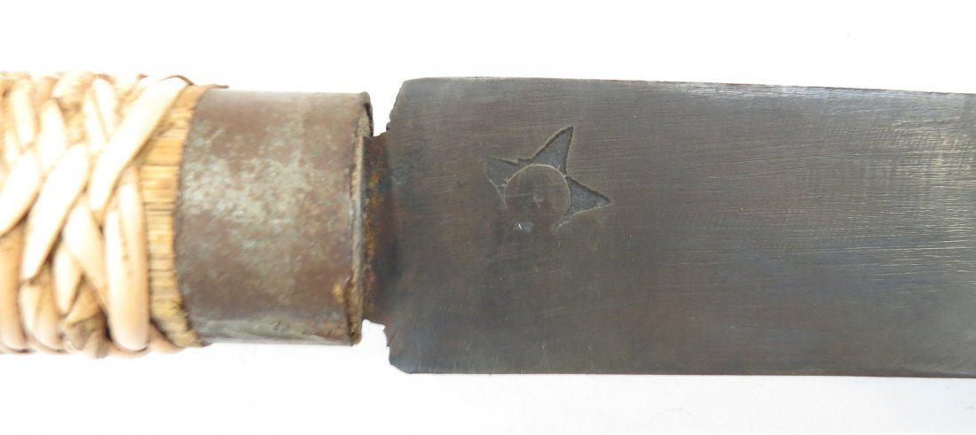 A CHINESE EXPORT DHA SWORD - 3