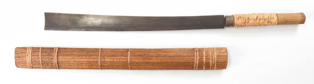 A CHINESE EXPORT DHA SWORD - 4