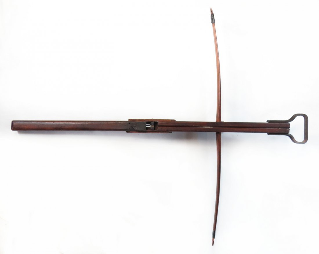 A VICTORIAN-ERA CROSSBOW