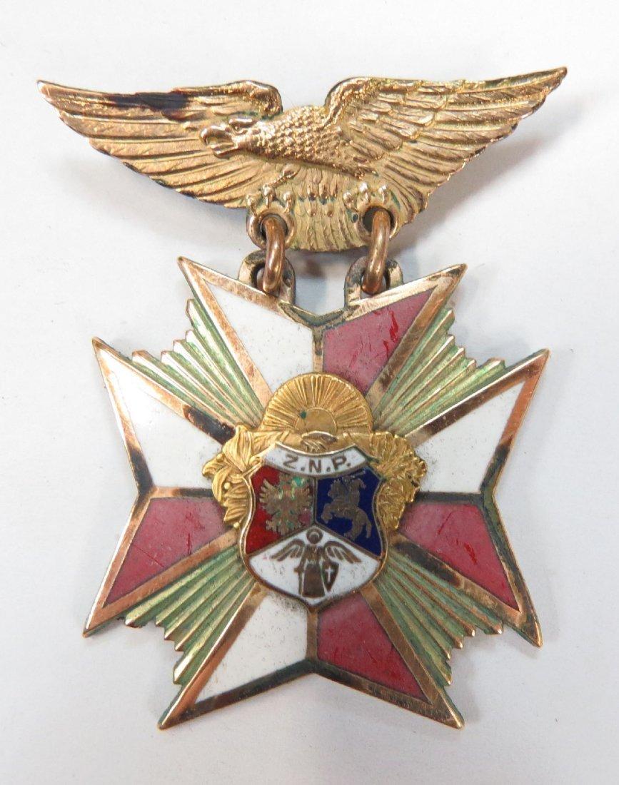 A POLISH MEDAL - 2