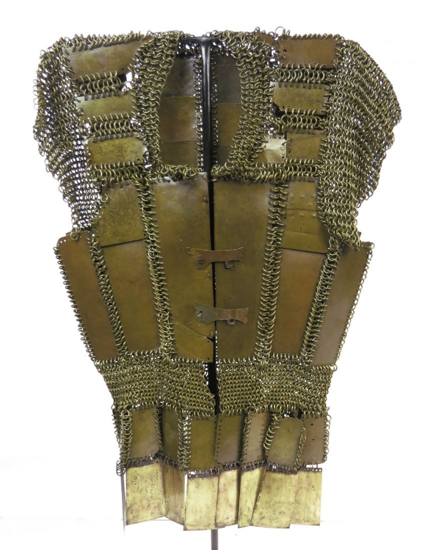 A MORO PLATE AND MAIL ARMOR