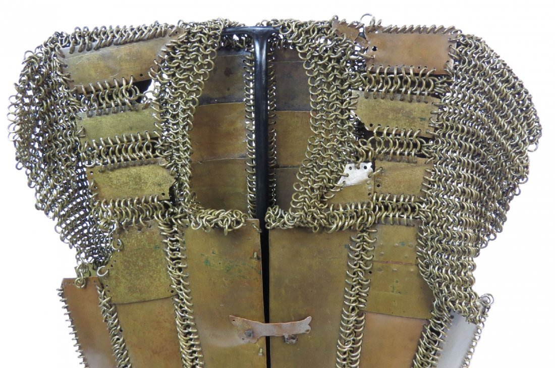 A MORO PLATE AND MAIL ARMOR - 2