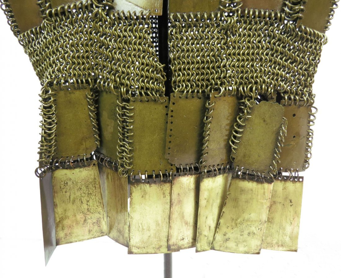 A MORO PLATE AND MAIL ARMOR - 3