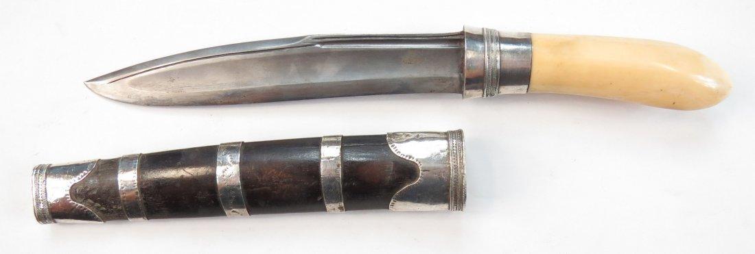 A BURMESE DHA DAGGER - 3