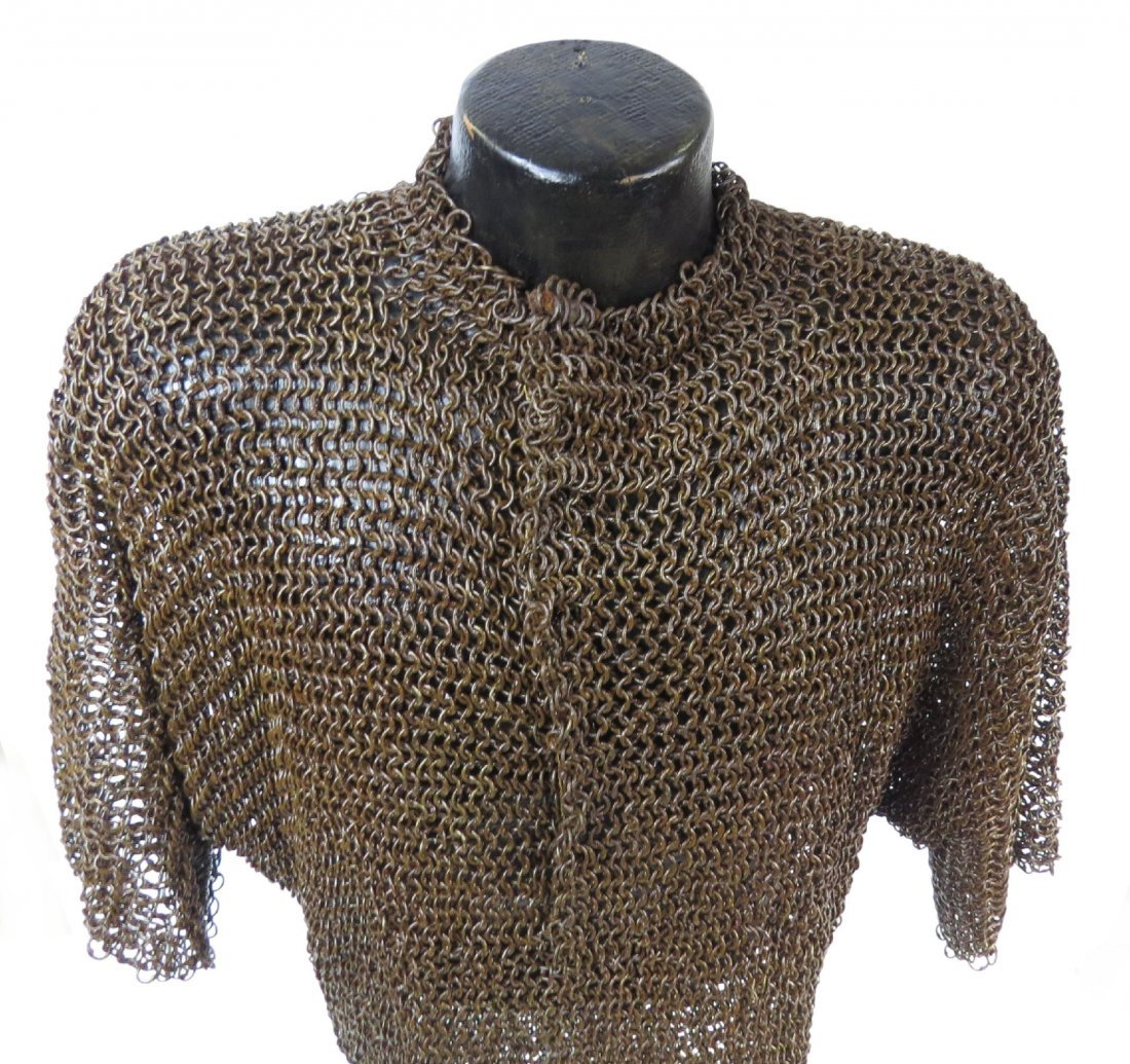 A PERSIAN COAT OF MAIL ARMOR - 2