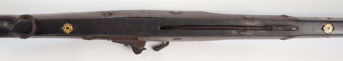 AN INDIAN TORADAR MUSKET - 10