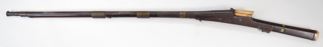 AN INDIAN TORADAR MUSKET - 8