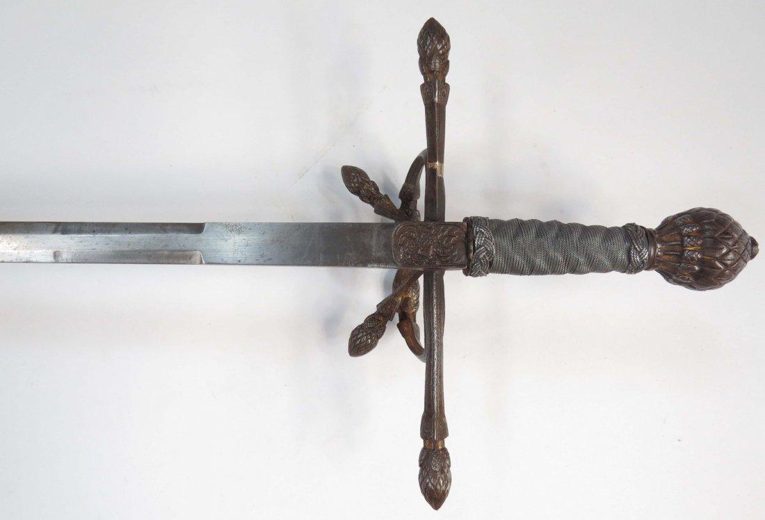 AN ELEGANT RAPIER SWORD - 6
