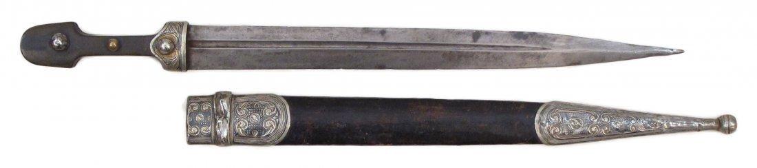 A CAUCASIAN KINDJAL DAGGER - 5