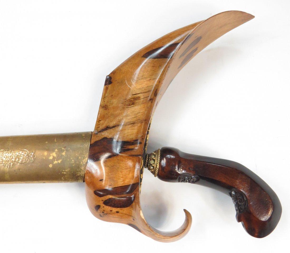 A BALINESE KRIS SWORD - 4