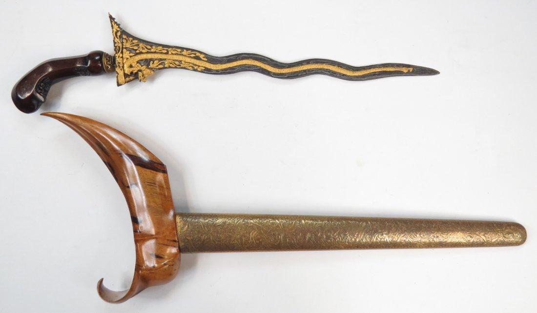 A BALINESE KRIS SWORD - 6