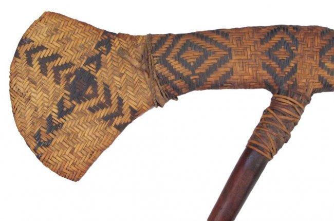 A RARE PAPUA NEW GUINEA STONE AXE - 6