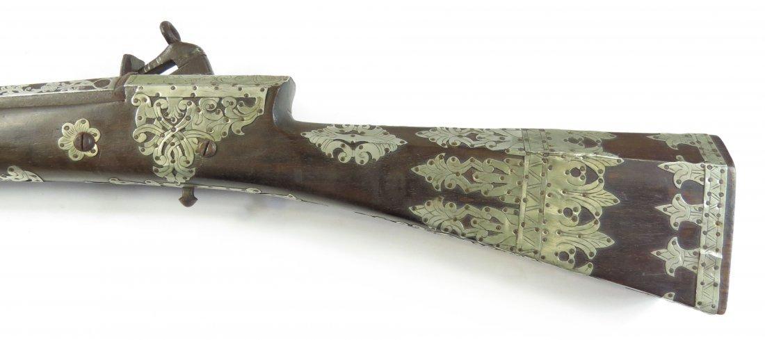 AN OTTOMAN SHISHANA MUSKET - 7