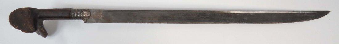 A BALKAN YATAGHAN SWORD