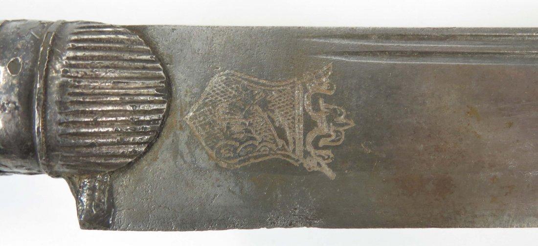 A BALKAN YATAGHAN SWORD - 3