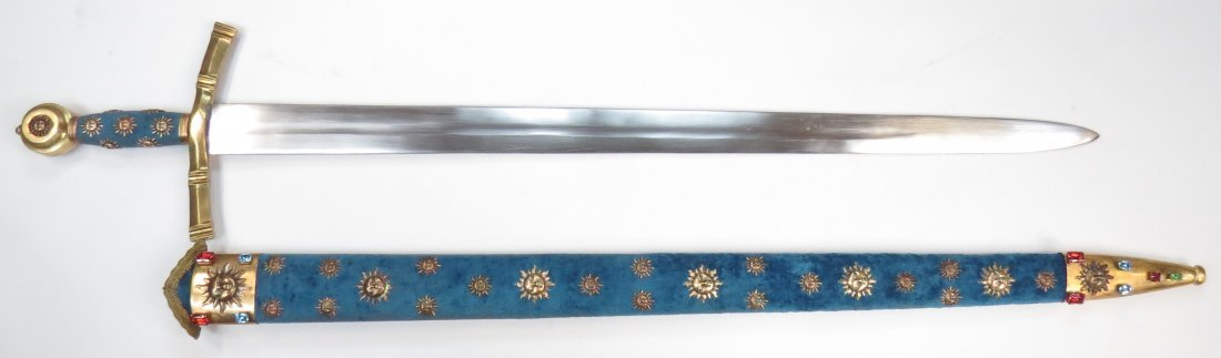 A PRESENTATION BEARING SWORD - 7