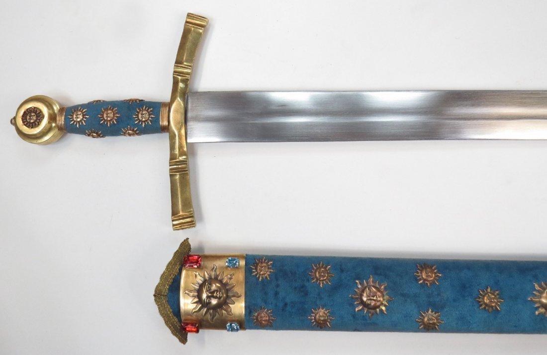 A PRESENTATION BEARING SWORD - 8