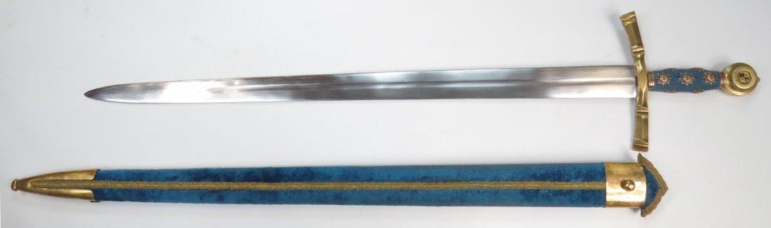 A PRESENTATION BEARING SWORD - 9