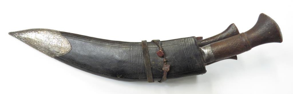 A NEPALESE KUKRIE KNIFE - 3