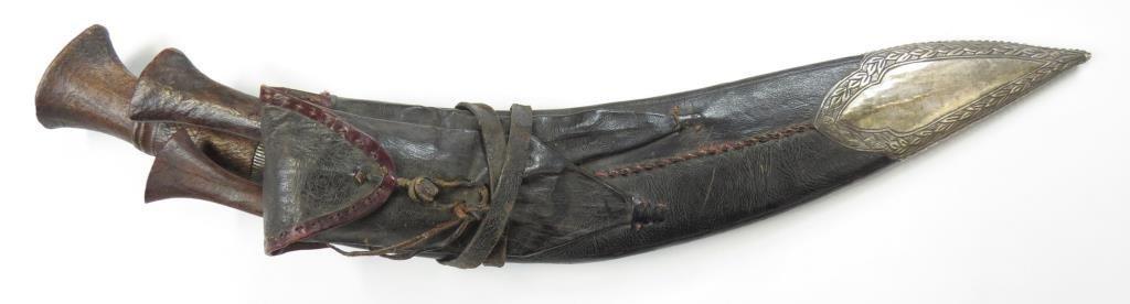 A NEPALESE KUKRIE KNIFE - 4