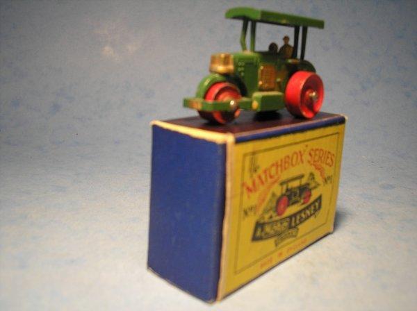 1: Matchbox,1A, Aveling Barford Diesel Road Roller,
