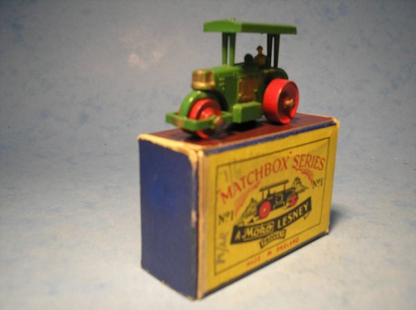 2: Matchbox,1A, Aveling Barford Diesel Road Roller,