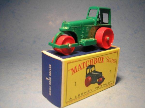 5: Matchbox,1D, Aveling Barford Diesel Road Roller,