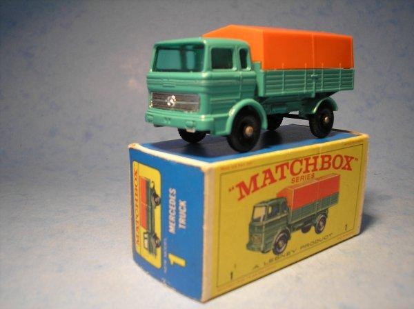 6: Matchbox,1E, Mercedes LP Covered Truck,