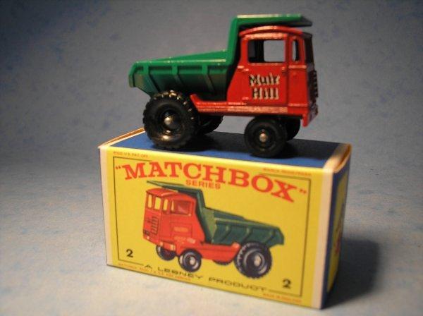 11: Matchbox, 2C Muir Hill Site Dumper