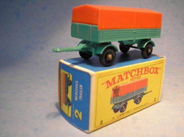 15: Matchbox, 2D, Mercedes LP Covered Trailer