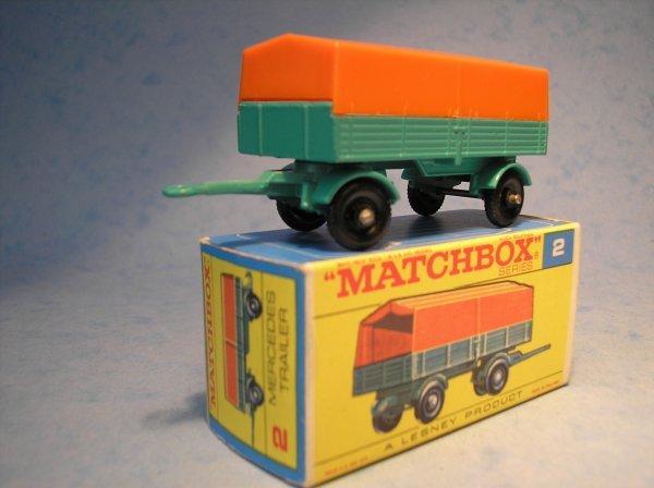 16: Matchbox, 2D, Mercedes LP Covered Trailer