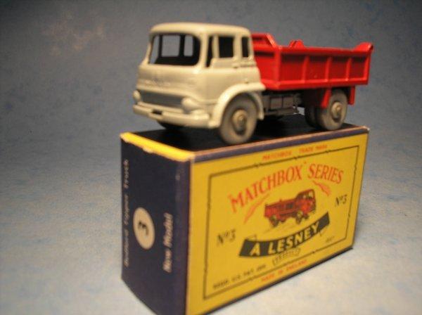 19: Matchbox 3B Bedford TK Tipper