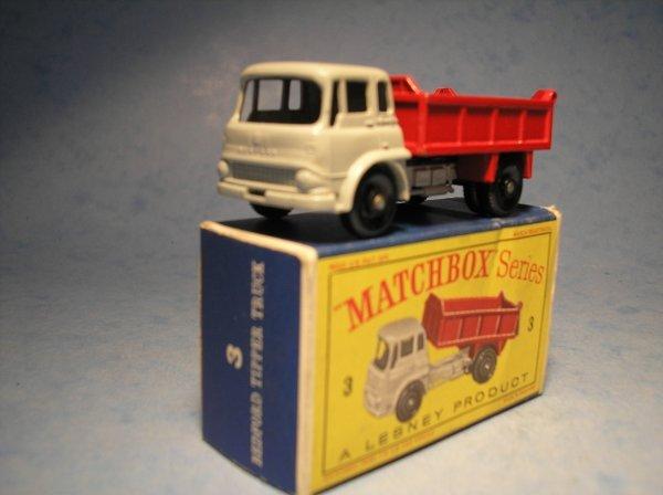 20: Matchbox 3B Bedford TK Tipper