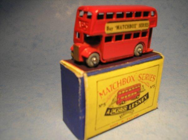 24: Matchbox 5A London Bus