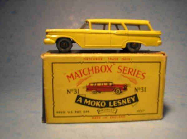 90: Matchbox 31B Ford Fairlane Station Wagon