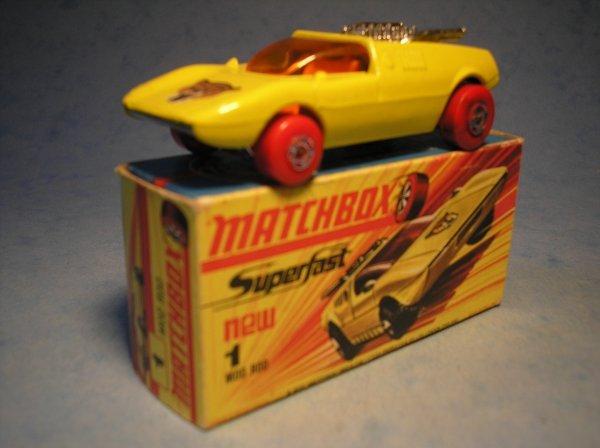 371: Matchbox Superfast, 1B CM3, Mod Rod