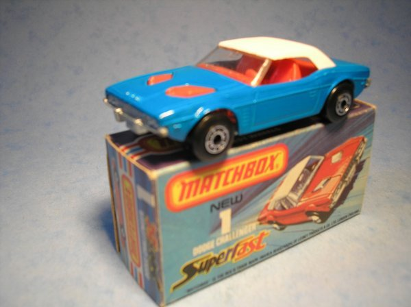 376: Matchbox Superfast, 1C CM5, Dodge Challenger